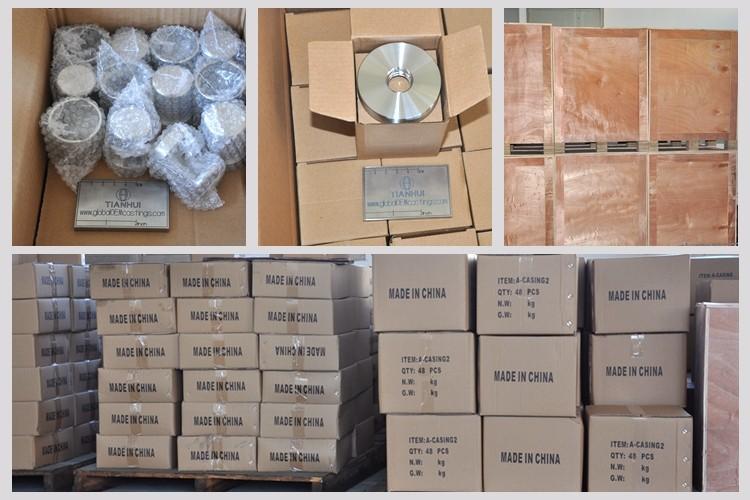 Çin OEM/ODM hassas CNC fabrikası kayıp balmumu döküm paslanmaz çelik hidrolik parçaları