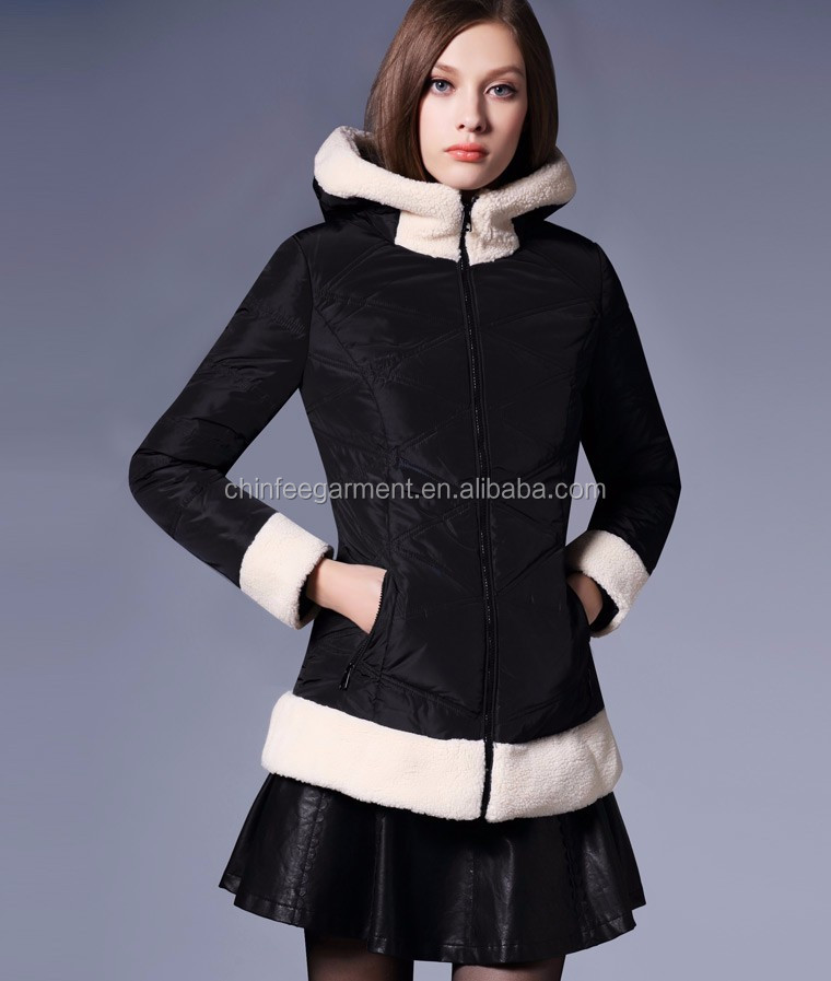 C017 Bulk Wholesale Women Clothing New Winter Coats Design With Pictures
