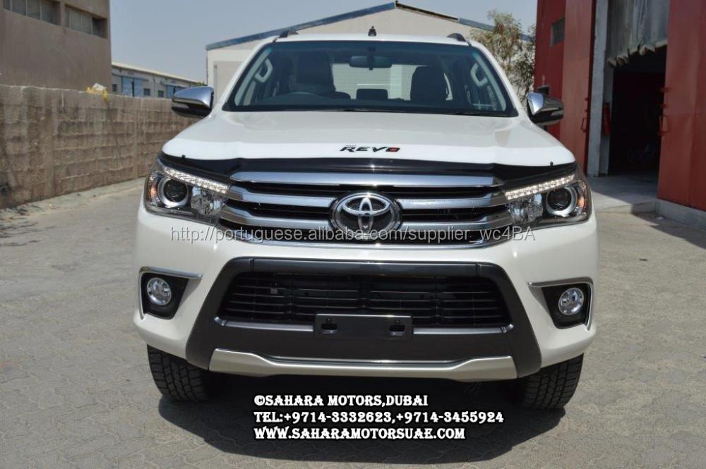 Novo Modelo Da Toyota Hilux 2016 | Autos Post