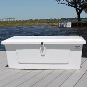 Marine Fiberglass Dock Storage Box