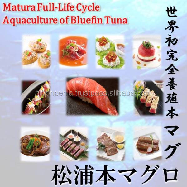 Matsuura bluefin tuna is a luxury food I want to eating a nice dining room set.