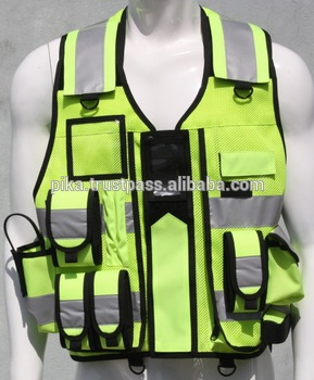 Hi Visibility Reflective Fluorescent Security Vests. search and rescue 667a8d92bf8
