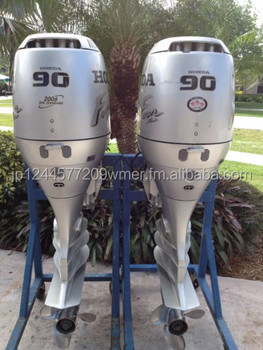 Used honda 90 hp 4 stroke outboard motor buy outboards for Used 90 hp outboard motors