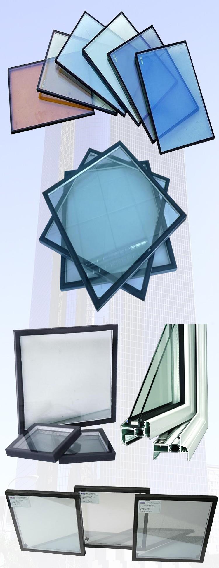 blue low e glass