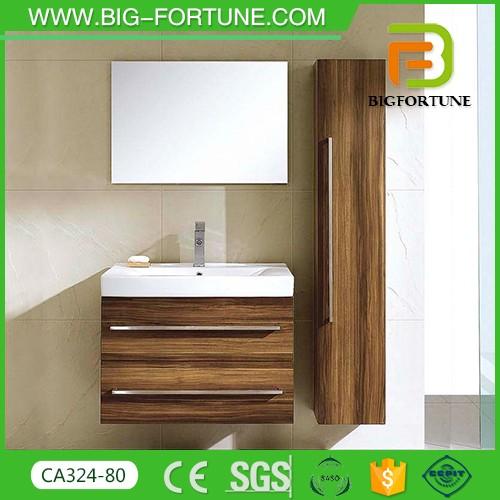 2016 bathroom vanity plywood wall hung washbasin cabinet design - Plywood Bathroom 2016