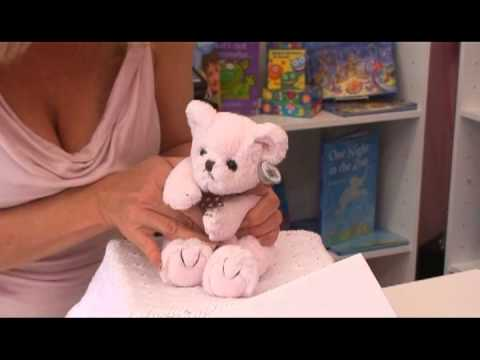 Pink Plush Mini Teddy Bear