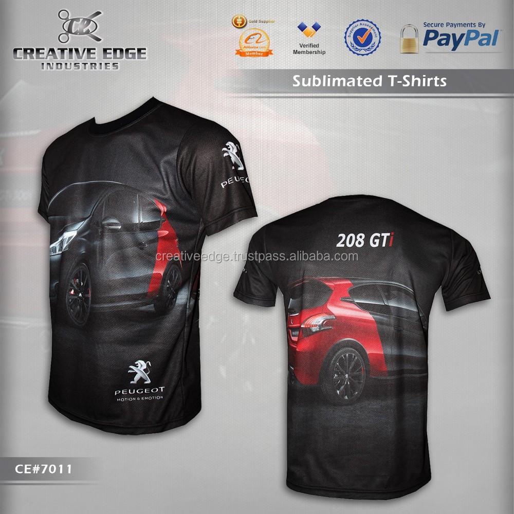 Peugeot 208 Gti Black Full Sublimation T-shirt/ Wholesale ...