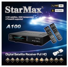 Digital Satellite Receiver model A100