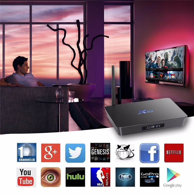 Android Tv Box Free Sample S912 X92 Dual Core Jailbreak Decoders,Full Movie  Hd Free Download Royal Iptv Subscription - Buy Royal Iptv