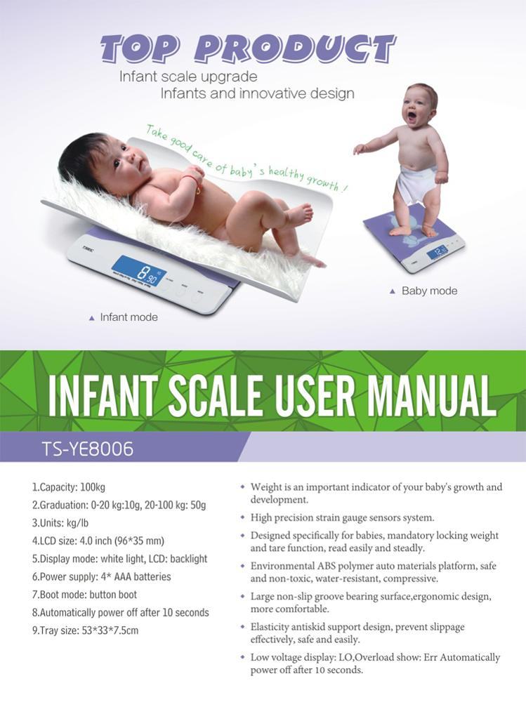 TS-YE8006 Best Selling Products 2017 Digital Heath Care Adult Baby Scale In usa