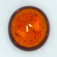 20.20 Cts Natural Fanta Orange Spessartite Garnet Loose Gemstone Oval Cabochon