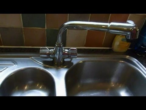 How to change mixer taps.monoblock mixers) .Kitchen taps shown, but same for basin or bath