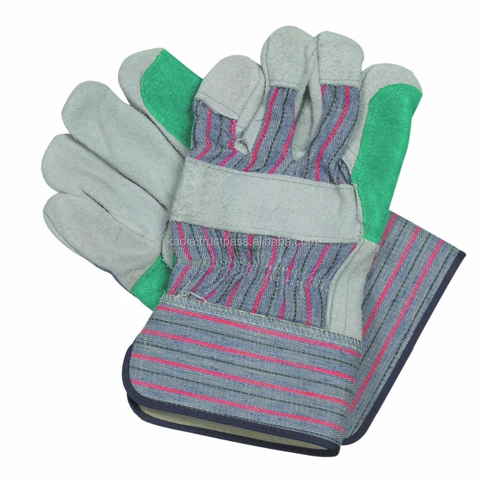 Leather palm work gloves wholesale - Double Palm Leather Work Glove Double Palm Leather Work Glove Suppliers And Manufacturers At Alibaba Com