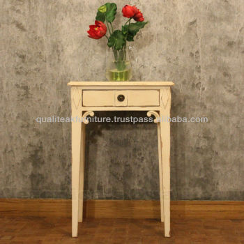 Antique White Bedside Tables With Swedish Furniture Design Signe
