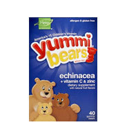 Yummi 곰 에키 와 Vitamin C 및 <span class=keywords><strong>아연</strong></span>, 40 곰 by Yummi 곰 (Hero <span class=keywords><strong>영양</strong></span> Products)
