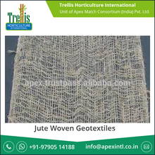 Jute woven Geotextile in Bale Packing for Soil Erosion Control
