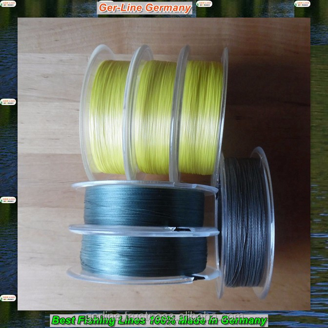 GER-LINE 200M 0.40-0.50mm 89.9-134.8lbs PE 8 strand braided fishing line 100% made in Germany smooth strong round