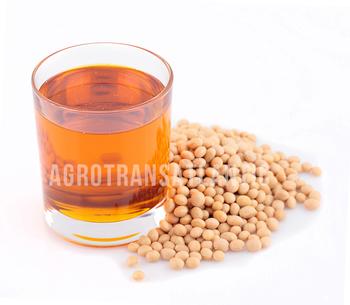 100 % Organic Crude Soybean Oil