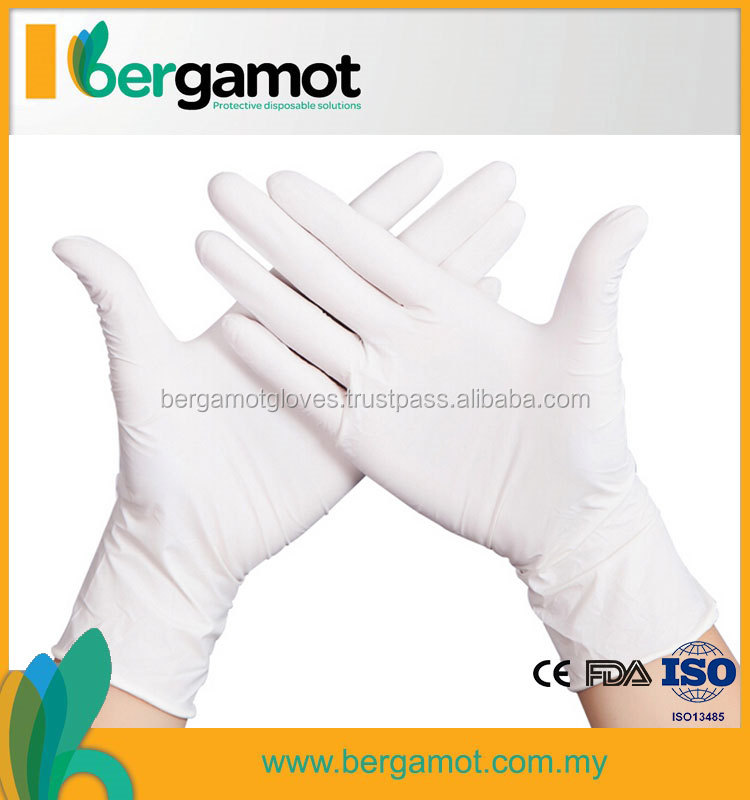 Disposable Medical Latex Gloves Malaysia Top Quality Gloves