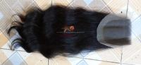 Nov 2016 Indonesian human hair lace closure 3*4 black color body wavy hair 40 inches no lice no tangle
