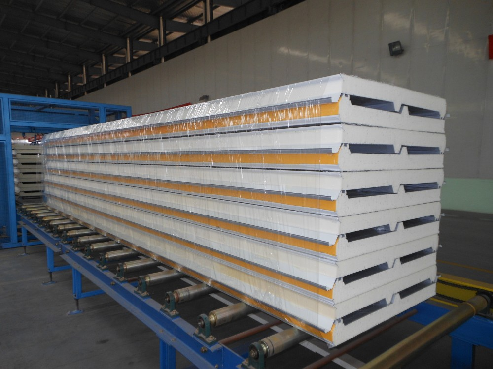 Insulated Metal Wall Panels : Eps foam filled insulated metail wall panels buy