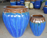 Home & garden glazed pots