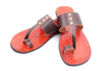 edaddbbee2be Men Leather Moroccan Style Handmade Sandal Slipper Indian Toe Strap ...