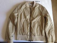 New design bomber jacket for men\ customized cheap plain windbreaker bomber jacket /Strapped plain brown Bomber jackets