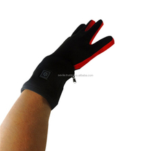 Fashion Design Lycra Fabric Rechargeable Battery Heated Thin Gloves