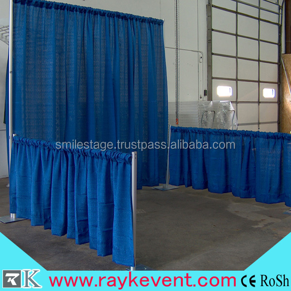 Aluminum Wedding Backdrop Stand,Pipe And Drape With Banjo