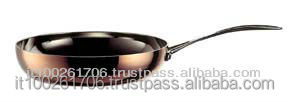 3 ply Tembaga aluminium stainless Cookware set 12 pieces pot & pan serie Tembaga