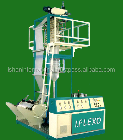 HM/HDPE Plastic Blown Film machine