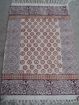 Paisley Design Printed Rugs Geometric