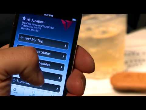 Mobile Baggage Tracking With The Delta App