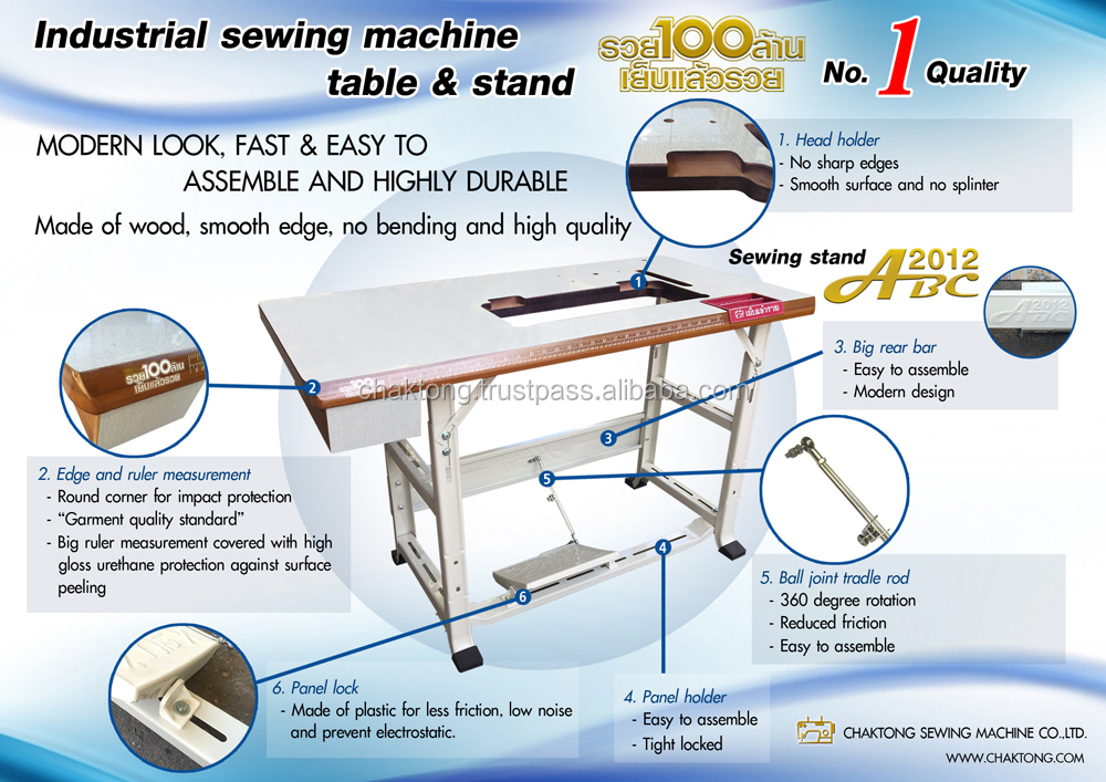 Modern Look Industrial Fixed And Adjustable Sewing Machine Table Top Magnificent Corner Sewing Machine Table