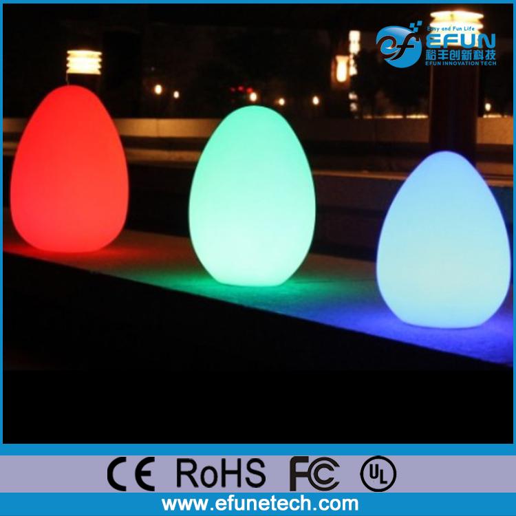 portable rechargeable decorative rgb led lamp egg mood. Black Bedroom Furniture Sets. Home Design Ideas