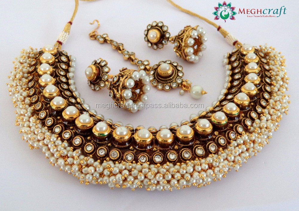 2015 Latest Fashion One Gram Gold South Indian Bridal Jewellery one