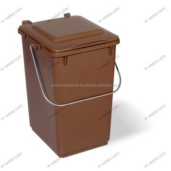 10 Liter Kitchen Bin Pre Sorting Small Plastic Trash Can Dustbin