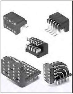 Mill-Max IC Sockets/To Sockets Right Angle Vertical SERIES 296, 299, 594 DISPLAY SOCKETS