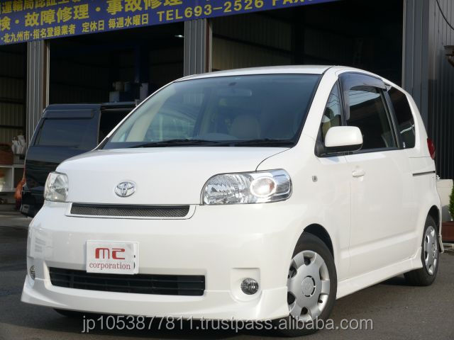Right hand drive import used cars from japanese Porte 150r 2004