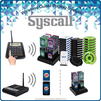 Syscall Guest Paging System Restaurant Coaster Pagers