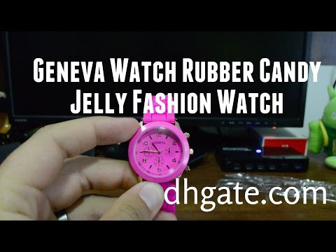 Shadow Style Geneva Watch Rubber Candy Jelly Fashion Silicone Quartz Watch DHgate.com