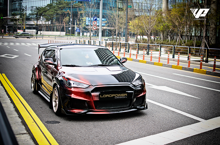 HYUNDAI VELOSTER RAPTOR FULL WIDE BODYKIT