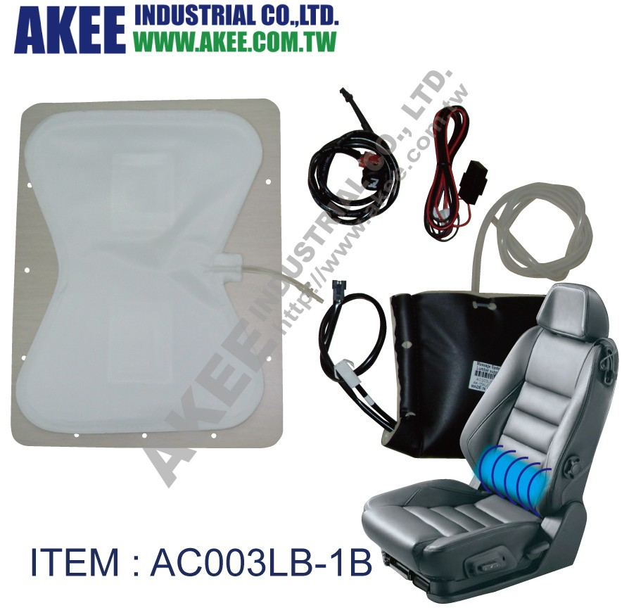 For Car Seat Airbag Massage Pneumatic Air Bladder Lumbar Support