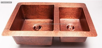Shiny Copper Kitchen Sink Rectangular Copper Sink Mexican Copper Sink Buy Cheap Kitchen Sinks Mexican Copper Sink Copper Sink Product On Alibaba Com