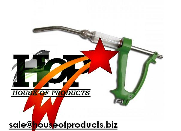 Automatic Drench Gun Metal Body veterinary instruments