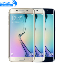 Original Samsung Galaxy S6 G920F G925F Edge 5.1″ Octa Core 3GB RAM 32GB ROM 16MP GPS NFC Unlocked Refurbished Mobile Phone
