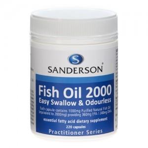 High Quality Nz Sanderson Fish Oil 2000mg Buy Fish Oil