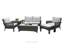 Garden Cedar Sofa Furniture Set (synthetic rattan with aluminium frame)