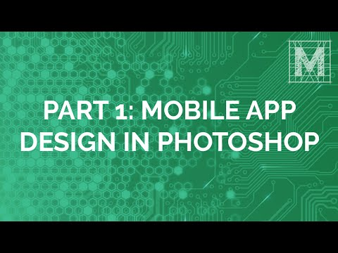 Mobile App Design in Photoshop: App Creation: Part 1
